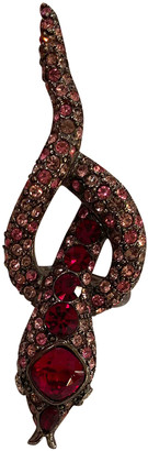 Kenneth Jay Lane Red Crystal Rings