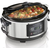 Hamilton Beach Stay or Go 5-qt. Programmable Slow Cooker