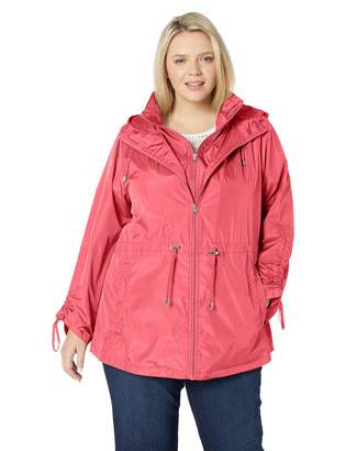 Details Women's Plus Size Packable Anorak Jacket