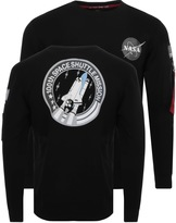 Alpha Industries Space Shuttle Sweatshirt Black