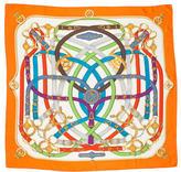 Hermes Cavalcadour Silk Scarf