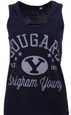 Royce Apparel Inc Women's Brigham Young Cougars Jersey Tank