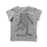 Munster Baby Boy's Face Off Tee - Grey