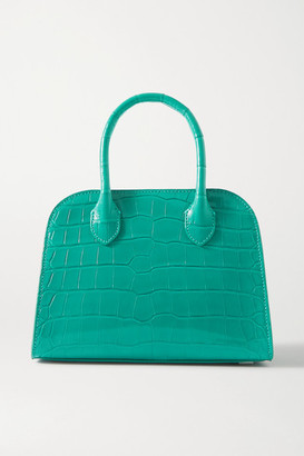 The Row Margaux 7.5 Alligator Tote - Green