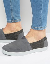 Toms Avalon Suede Slip On Plimsolls