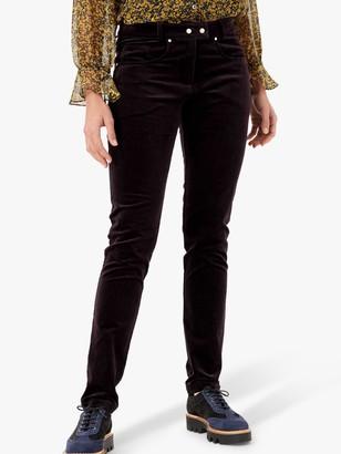 Brora Cotton Velvet Slim Fit Jeans