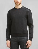 Belstaff Hornby Crew Neck Sweatshirt Black