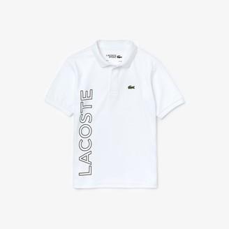 Lacoste Girls' DJ1182 Polo Shirt