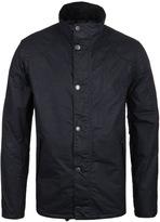 Barbour Hilton Navy Drywax Jacket
