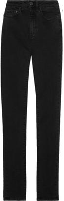 Acne Studios Pin High-rise Slim-leg Jeans