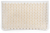 Christian Louboutin Loubiposh Spiked Clutch Bag, White