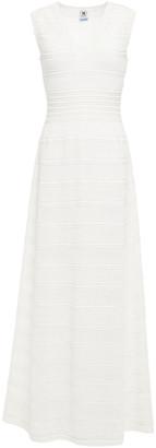 M Missoni Pointelle-knit Cotton-blend Maxi Dress