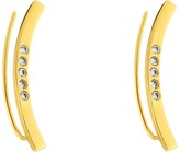 Gorjana Taner Bar Shimmer Ear Climbers Earrings