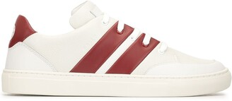 Bally Two Tone Flat Sneakers