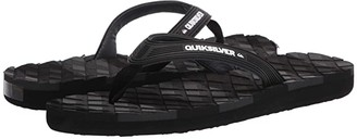 Quiksilver Massage 2 (Black/Black/Grey) Men's Sandals