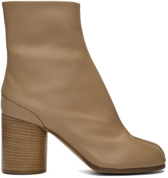 Maison Margiela Tan Tabi Boots