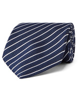 Tom Ford - 8cm Striped Woven Silk Tie
