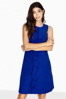 Paper Dolls Outlet Kempsey Frill Front Shift Dress