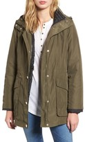 London Fog Women's Hooded 3-In-1 Anorak