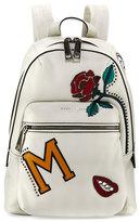 Marc Jacobs MJ Collage Biker Leather Backpack