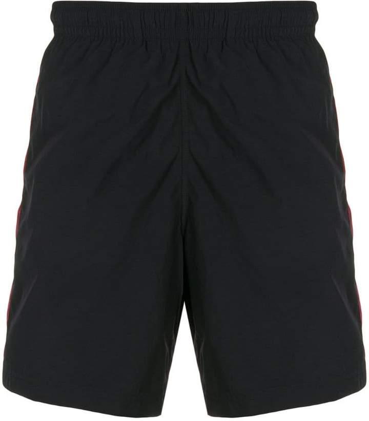 Alexander McQueen side-stripe swim shorts