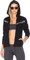 Lanston Sport Remy Contrast Zip Up Hoodie
