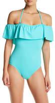The Bikini Lab Ruffle One-Piece Swimsuit