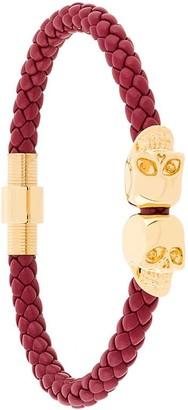 Northskull Woven Skull Bracelet
