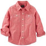 Osh Kosh 2-Pocket Chambray Button-Front Shirt