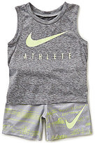 Nike Baby Boys 12-24 Months Athlete Muscle Tee & Shorts Set