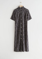 Thumbnail for your product : And other stories Adjustable Waist Midi Shirt Dress