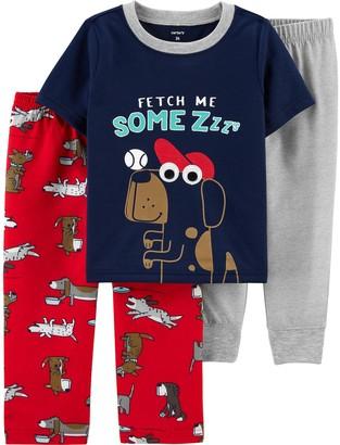 Carter's Baby 3-Piece Dog Pajama Set