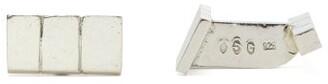 Samuel Gassmann - Linear-engraved Sterling Silver Cufflinks - Mens - Silver