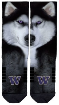 Strideline Washington Huskies Full Sublimation Crew Socks