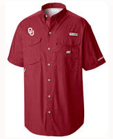 Columbia Men's Oklahoma Sooners Bonehead Short Sleeve Shirt
