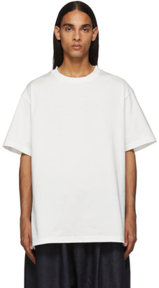 Off-White Fumito Ganryu Side Line Embroidery T-Shirt