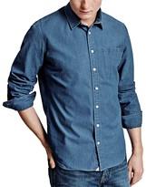 Thomas Pink Espir Plain Slim Fit Button Down Shirt