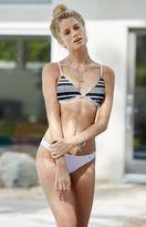 rhythm Strokes Stripe Bralette Bikini Top