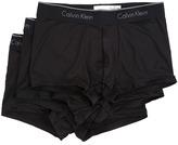 Calvin Klein Underwear Micro Stretch 3-Pack Low Rise Trunk Men's Underwear