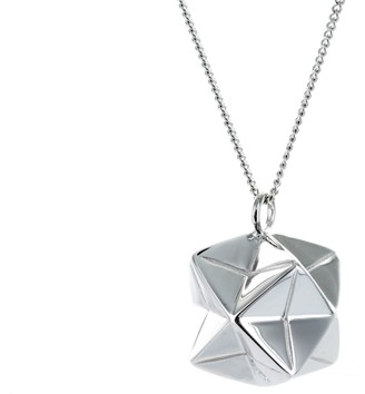 Origami Jewellery Magic Ball Necklace Sterling Silver