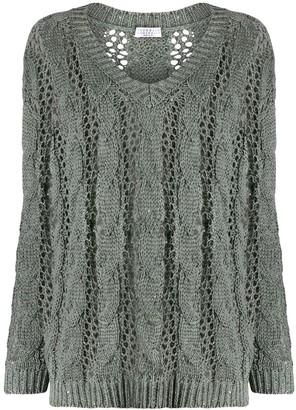 Brunello Cucinelli Sequin Knitted Jumper