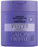 Charles Worthington Colour Enhancer Violet Toning Shampoo 75ml