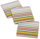 Crate & Barrel Set of 20 Stripes Paper Beverage Napkins