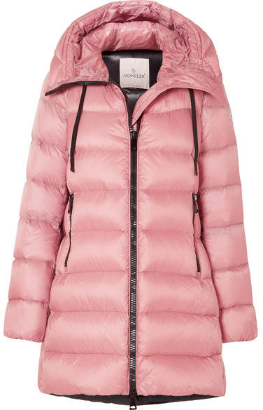 Moncler Quilted Shell Down Jacket - Pink