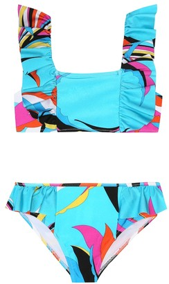 Emilio Pucci Kids Printed bikini