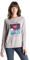 Roxy Junior's Ray Of Light Palm Beach Sweatshirt