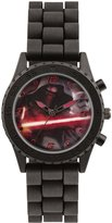 Disney Star Wars Boy's Quartz Watch with Multicolour Dial Analogue Display and Silicone Strap SWM3053