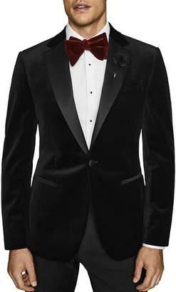 Reiss Ace Velvet Slim Fit Tuxedo Jacket