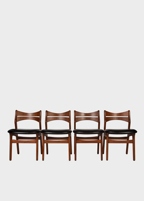 Teak Dining Chairs by Erik Buch, 1960s - Set of Four