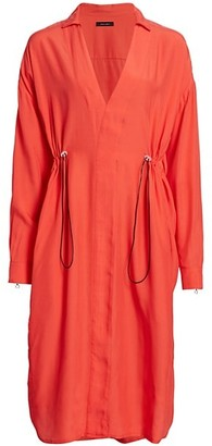 artica-arbox Drawcord Shirtdress